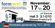 formnext powered by TCT 2015