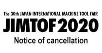Cancellation of JIMTOF 2020