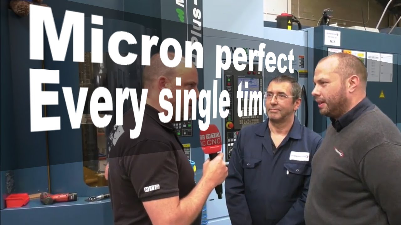 It's cutting micron perfect every single time.