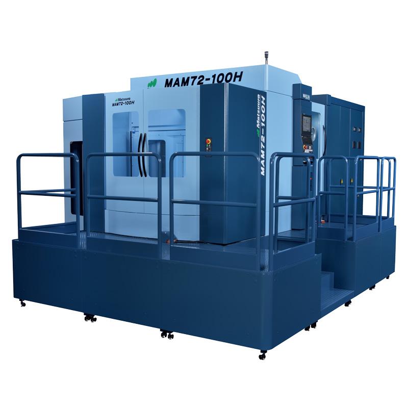 5軸制御横形マシニングセンタ MAM72-100H