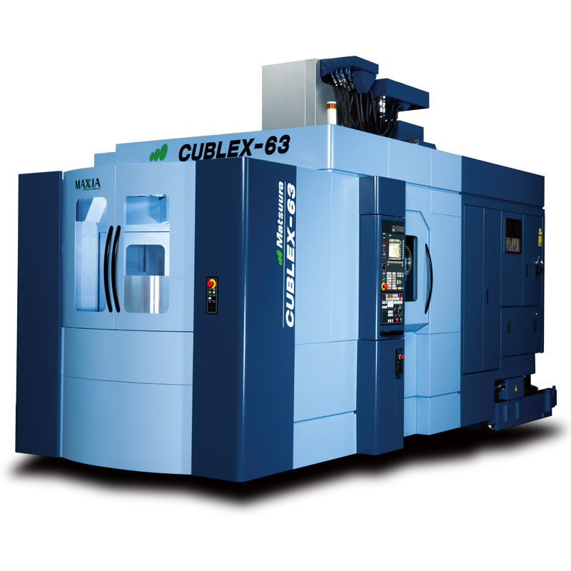 5軸複合マシニングセンタ CUBLEX-63