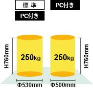 H.Plus-300最大ワークサイズ