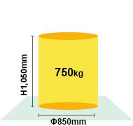 H.Plus-500最大ワークサイズ