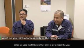 マツウラのマルチパレット機で工場の高効率生産を達成